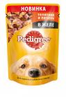 Корм для взрослых собак телятина и печень  в желе ПЕДИГРИ 85г