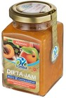 Джем низкокалорийный  Dieta-Jam, абрикос ,230 гр