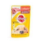 Корм для взрослых собак всех пород ПЕДИГРИ с говядиной в соусе 100г