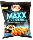 Чипсы Лейз MAXX грибы в сливочном соусе 75 гр