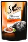 Корм для кошек Sheba ломтики в соусе, телятина и язык 85 гр