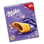 Milka Crunchy Break  батончики из бисквитного печенья с шоколадной начинкой 156 гр