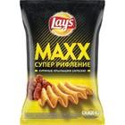 Чипсы Lay`s MAXX , куриные крылышки барбекю,145 гр.