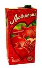 Сок Гранатовый сезон ( яблоко,гранат,черноплодная рябина) Любимый ,0,95л