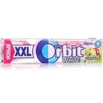 Жевательная резинка ORBIT WHITE XXL яблоко 20г