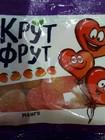 "Жевательный мармелад ""Крут Фрут"" сердечки 110 гр"