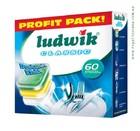 Таблетки для посудомоечных машин LUDWIK classic super pack  60 шт