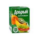 """Нектар """"Добрый""""  """"Мультифрукт"""" 0,2 л"""