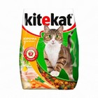 Kitekat Аппетитная курочка для взрослых кошек, 350г