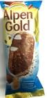 Мороженое  эскимо Alpen Gold с молочным шоколадом и хрустящими кусочками,100 мл.